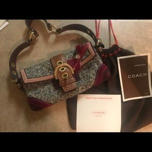 Authentic limited edition coach purse